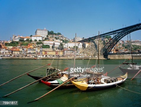 Rabelo boats in porto
