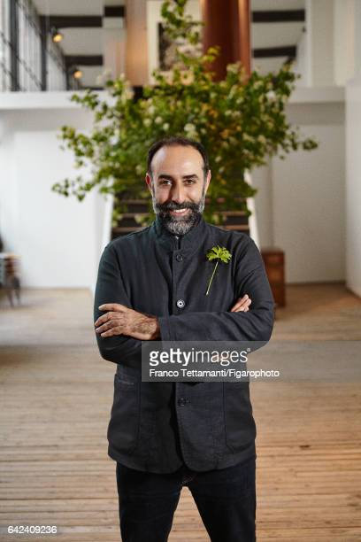 Rabih Kayrouz fashion designer and founder of Maison Rabih Kayrouz is photographed for Madame Figaro on May 9 2016 in Paris France PUBLISHED IMAGE...