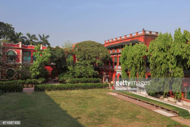 Rabindra bharati museum building, kolkata, west bengal, india, asia