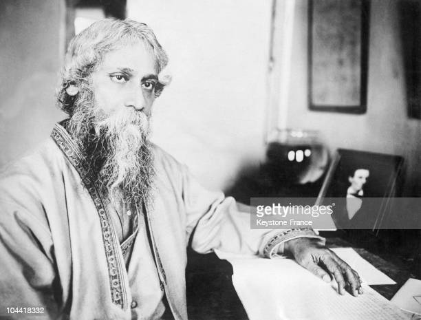 Rabindranath Tagore shortly before his death in 1941 He received the Nobel Prize in Literature 1913