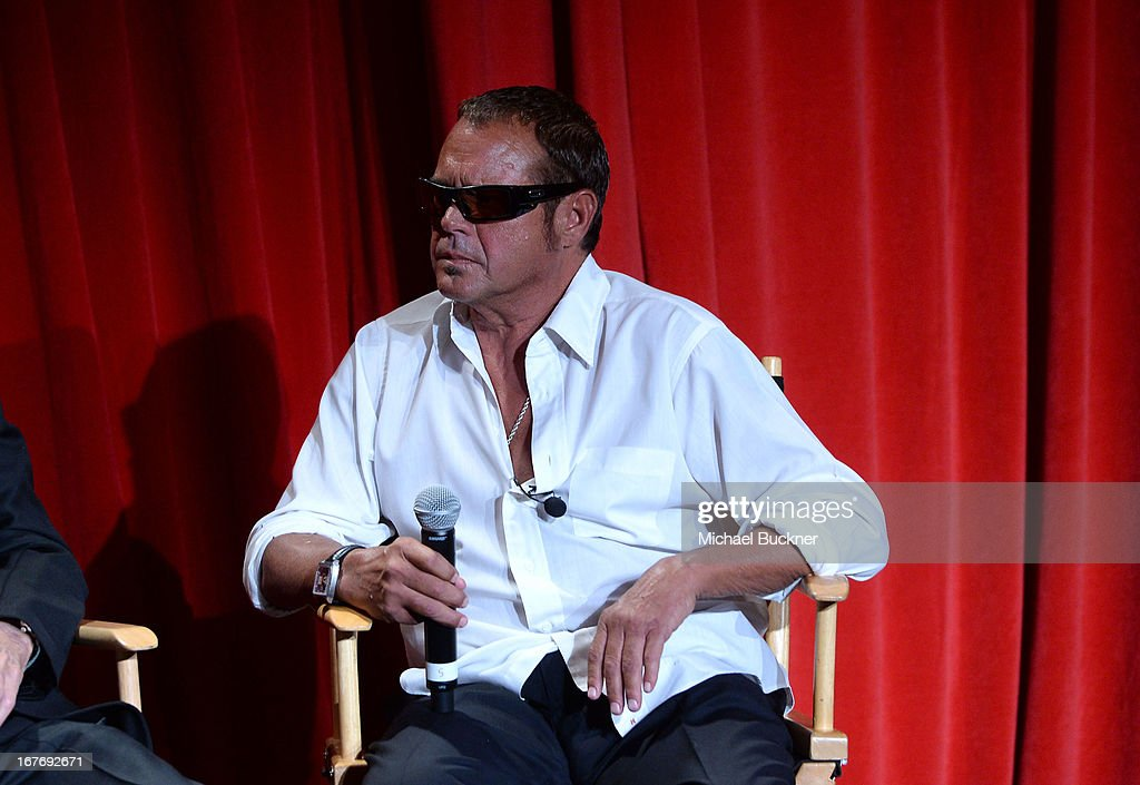 Race car driver Chad McQueen attends 'Le Mans Behind the Scenes' special conversation during the 2013 TCM Classic Film Festival at TCL Chinese...