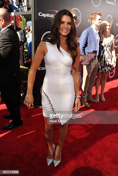 Race car driver Danica Patrick attends The 2014 ESPY Awards at Nokia Theatre LA Live on July 16 2014 in Los Angeles California