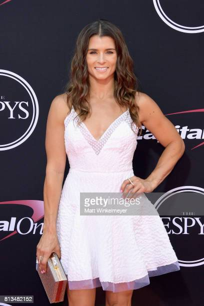 Race car driver Danica Patrick attends The 2017 ESPYS at Microsoft Theater on July 12 2017 in Los Angeles California