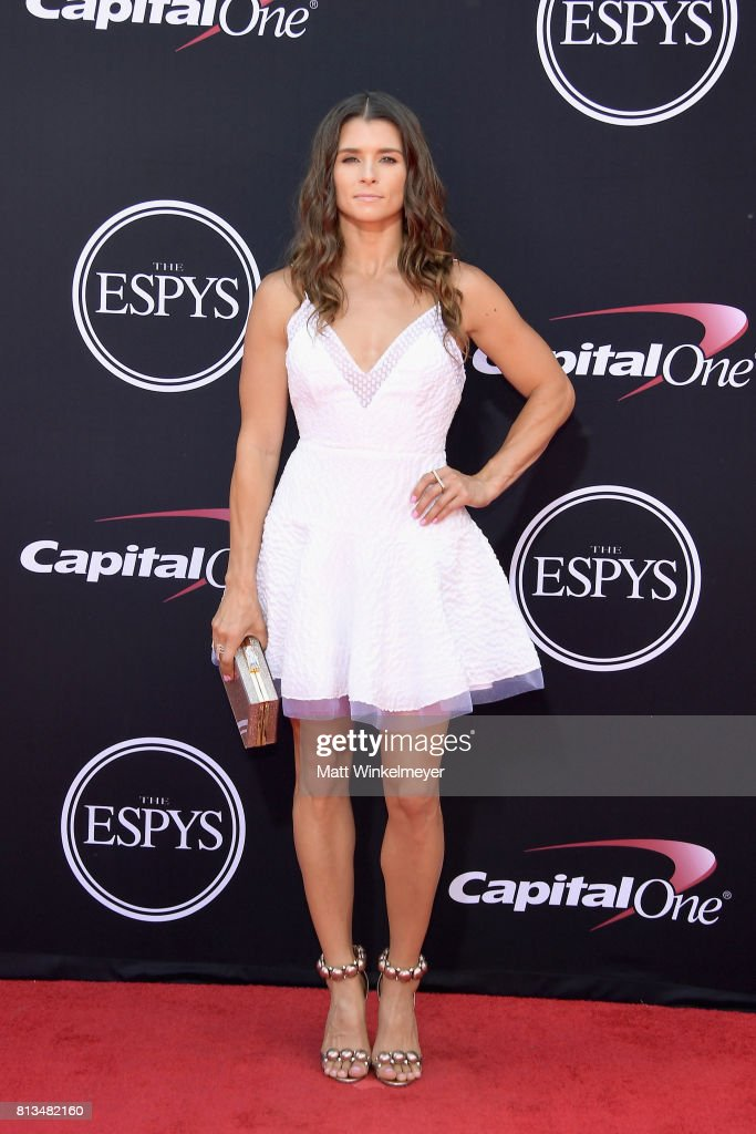 Race car driver Danica Patrick attends The 2017 ESPYS at Microsoft Theater on July 12, 2017 in Los Angeles, California.