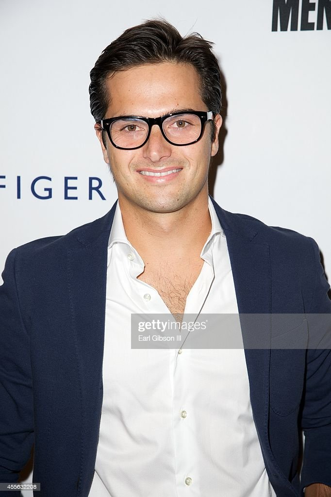 Race car driver Nelson Piquet Jr attends the 2014 Men's Fitness Game Changers Celebration at Palihouse Holloway on September 17 2014 in West...