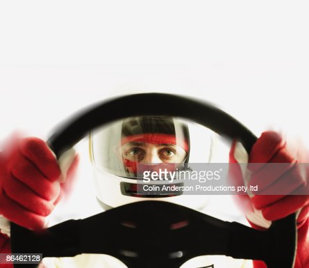 Race car driver : Foto de stock