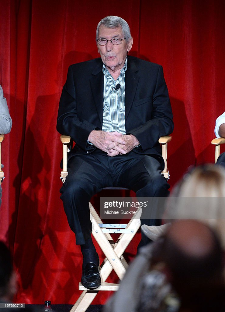 Race car driver Vic Elford attends 'Le Mans Behind the Scenes' special conversation during the 2013 TCM Classic Film Festival at TCL Chinese Theatre...