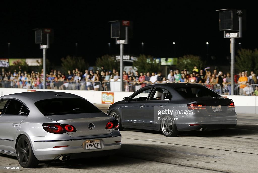 Friday night drags at texas motor speedway getty images for Texas motor speedway drag racing