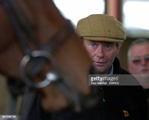 Race horse trainer Nicky Henderson