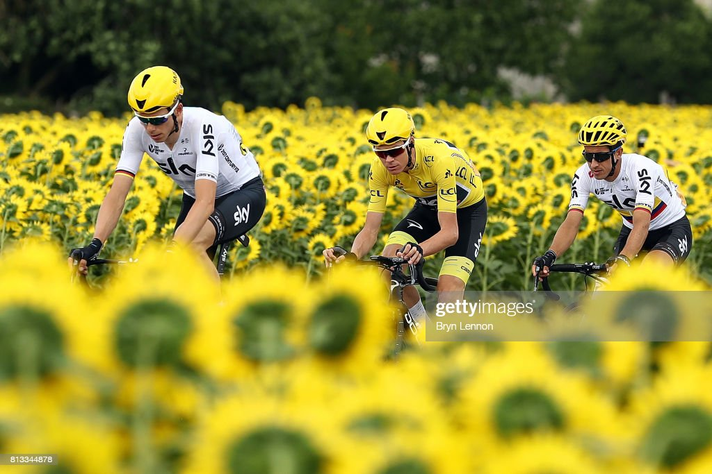 Can Chris Froome make it 3 in a row Tour de France titles ?