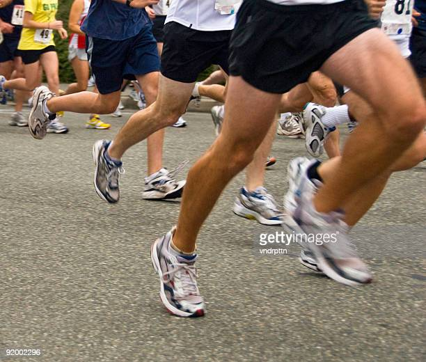10-Kilometer-Lauf starten