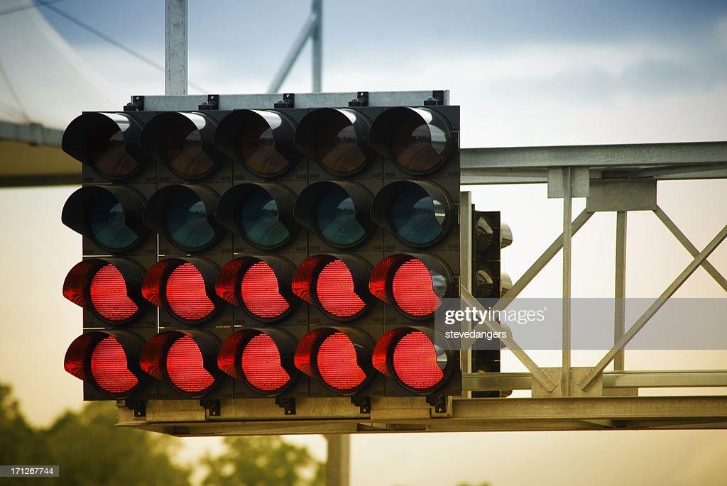 Race starting lights