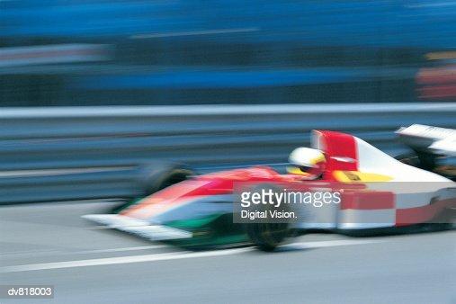Racecar : Stock Photo