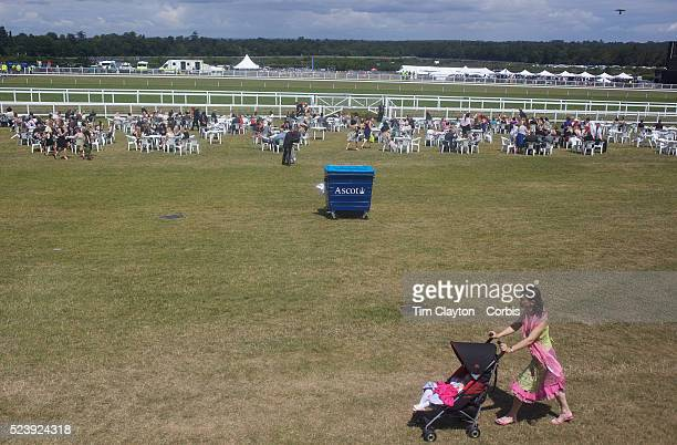A racegoer pushes a stroller at the Royal Ascot race meeting After over a decade of Labour Government in Great Britain the gap between the wealthy...
