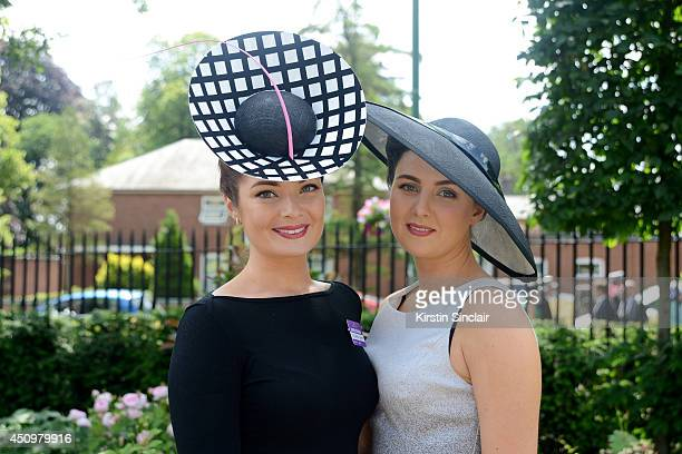 Racegoers attend day five of Royal Ascot at Ascot Racecourse on June 21 2014 in Ascot England