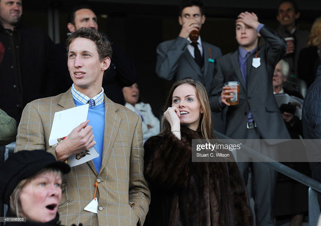Racegoers attend the Ascot November Meeting featuring the Christmas Shopping Village at Ascot Racecourse on November 23, 2013 in Ascot, England.