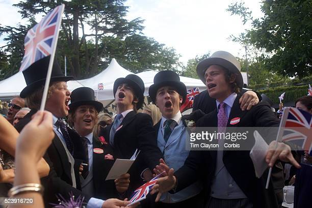 Racegoers break into song at the Royal Ascot After over a decade of Labour Government in Great Britain the gap between the wealthy and the poor is as...