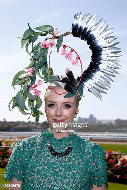 Racegoers enjoy the atmosphere on Melbourne Cup Day at Flemington Racecourse on November 3 2015 in Melbourne Australia