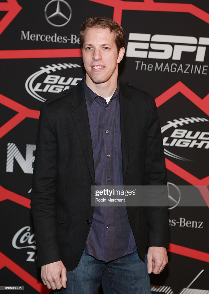 NASCAR racer Brad Keselowski attends ESPN The Magazine's 'NEXT' Event at Tad Gormley Stadium on February 1, 2013 in New Orleans, Louisiana.
