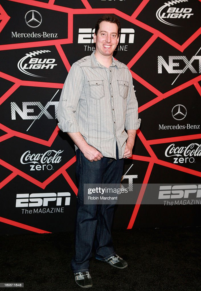 NASCAR racer Kyle Busch attends ESPN The Magazine's 'NEXT' Event at Tad Gormley Stadium on February 1, 2013 in New Orleans, Louisiana.