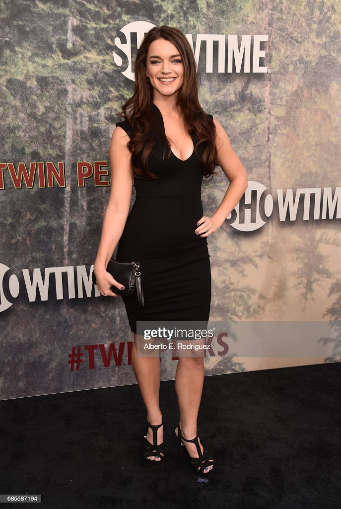 Rachael Bower attends the premiere of Showtime's 'Twin Peaks' at The Theatre at Ace Hotel on May 19, 2017 in Los Angeles, California.