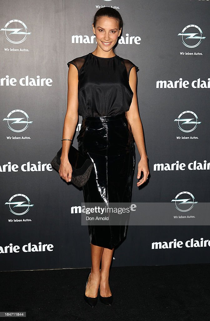 Rachael Finch arrives at the 2013 Prix de Marie Claire Awards at the Star on March 27, 2013 in Sydney, Australia.