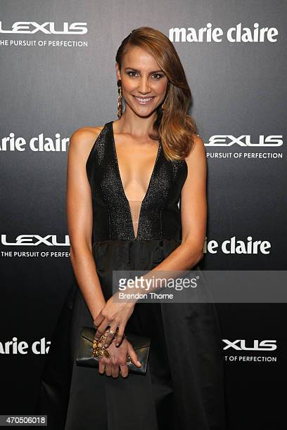 Rachael Finch arrives at the 2015 Prix de Marie Claire Awards at Fox Studios on April 21 2015 in Sydney Australia