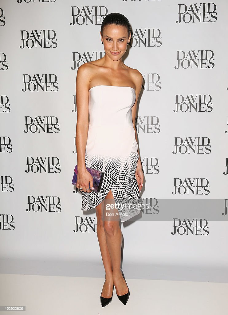 <a gi-track='captionPersonalityLinkClicked' href=/galleries/search?phrase=Rachael+Finch&family=editorial&specificpeople=5521670 ng-click='$event.stopPropagation()'>Rachael Finch</a> arrives at the David Jones Spring/Summer 2014 Collection Launch at David Jones Elizabeth Street Store on July 30, 2014 in Sydney, Australia.