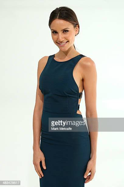 Rachael Finch attends the Haryono Setiadi show during MercedesBenz Fashion Week Australia 2014 at Pix Studios Alexandria on April 9 2014 in Sydney...