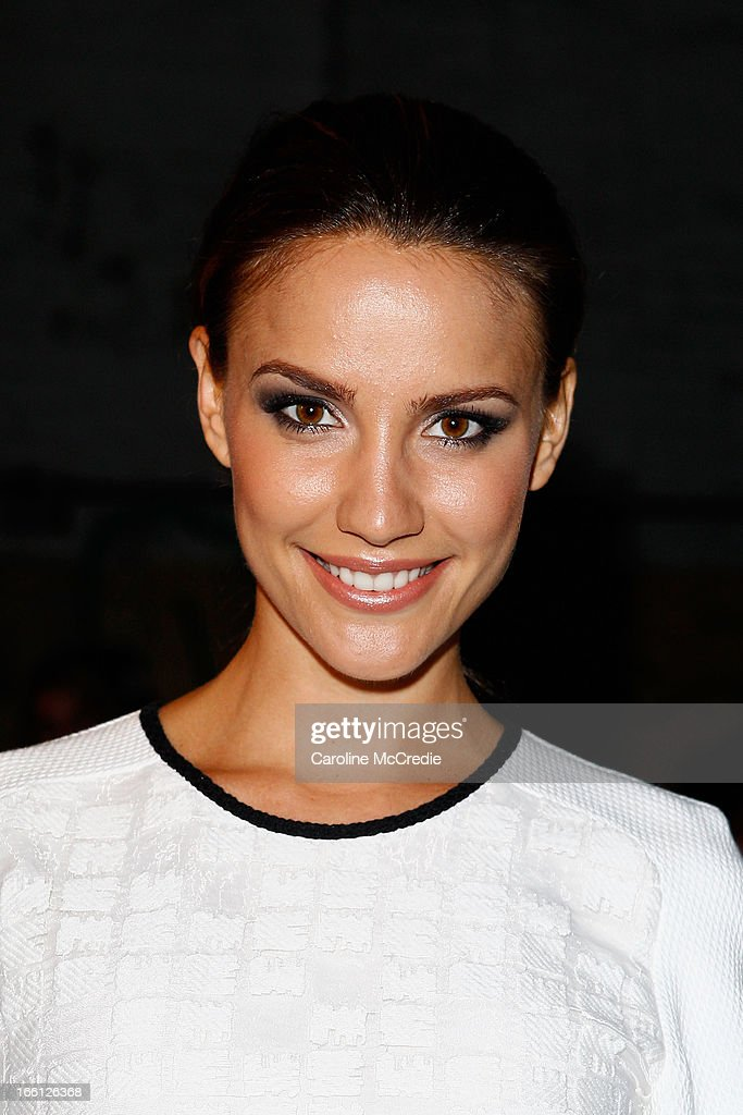 Rachael Finch attends the Manning Cartell show during Mercedes-Benz Fashion Week Australia Spring/Summer 2013/14 at The Shed, Carriageworks on April 9, 2013 in Sydney, Australia.