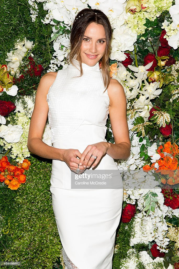 <a gi-track='captionPersonalityLinkClicked' href=/galleries/search?phrase=Rachael+Finch&family=editorial&specificpeople=5521670 ng-click='$event.stopPropagation()'>Rachael Finch</a> poses at the launch of the 2014 Sydney Spring Carnival at Royal Randwick Racecourse on September 2, 2014 in Sydney, Australia.