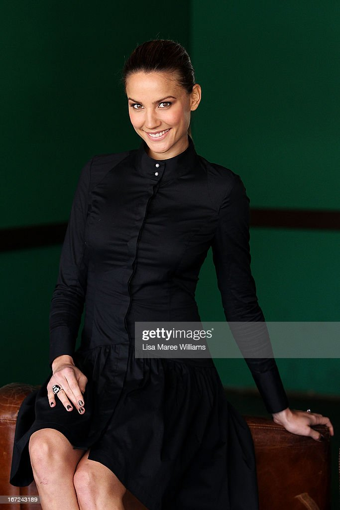 Rachael Finch poses during the COSMO 40 Years Celebration Lunch at Otto Ristorante on April 23, 2013 in Sydney, Australia.