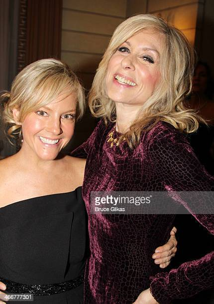 Rachael Harris and Judith Light attend The Drama League's 30th Annual Musical celebration of Broadway honoring Neil Patrick Harris at The Pierre...