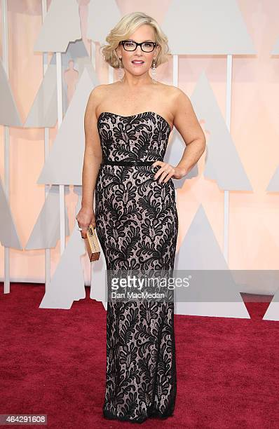 Rachael Harris arrives at the 87th Annual Academy Awards at Hollywood Highland Center on February 22 2015 in Los Angeles California