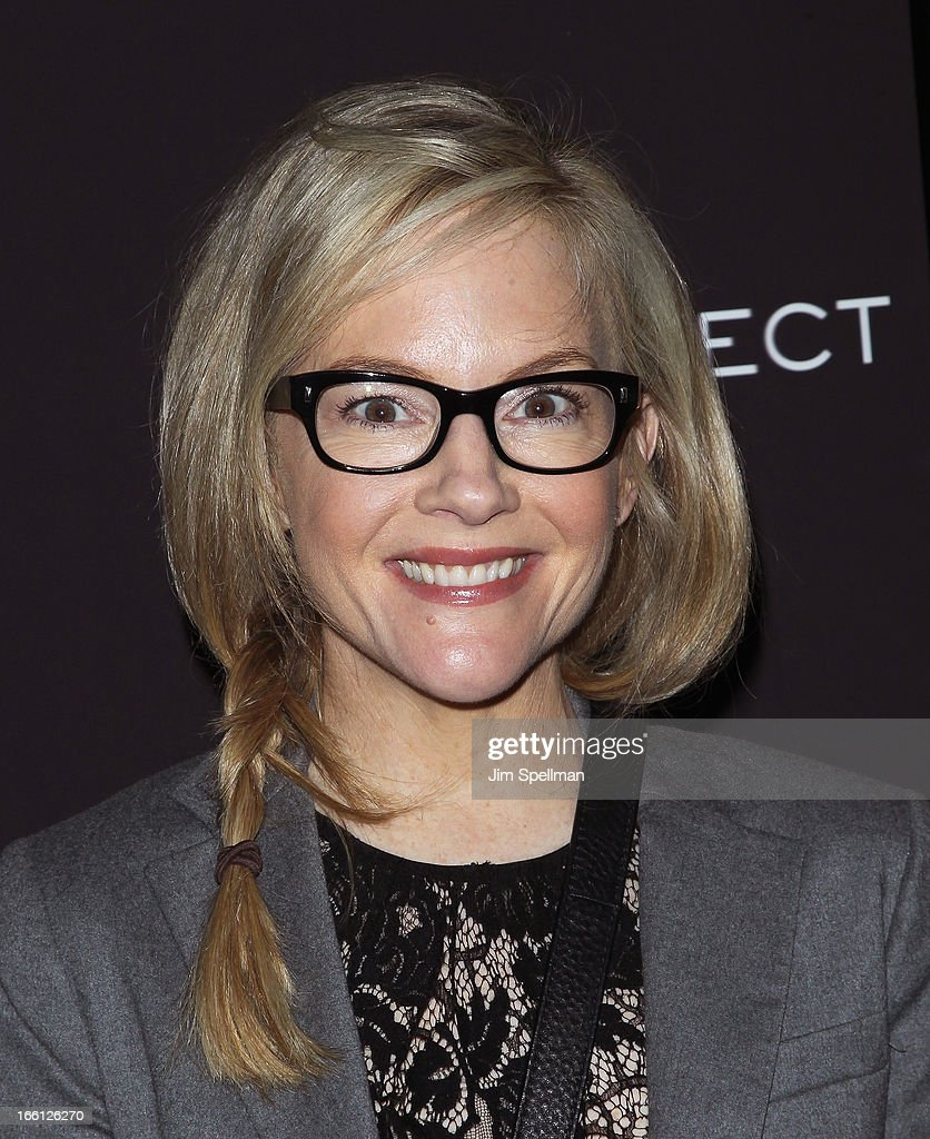 Rachael Harris attends 'Disconnect' New York Special Screening at SVA Theater on April 8 2013 in New York City