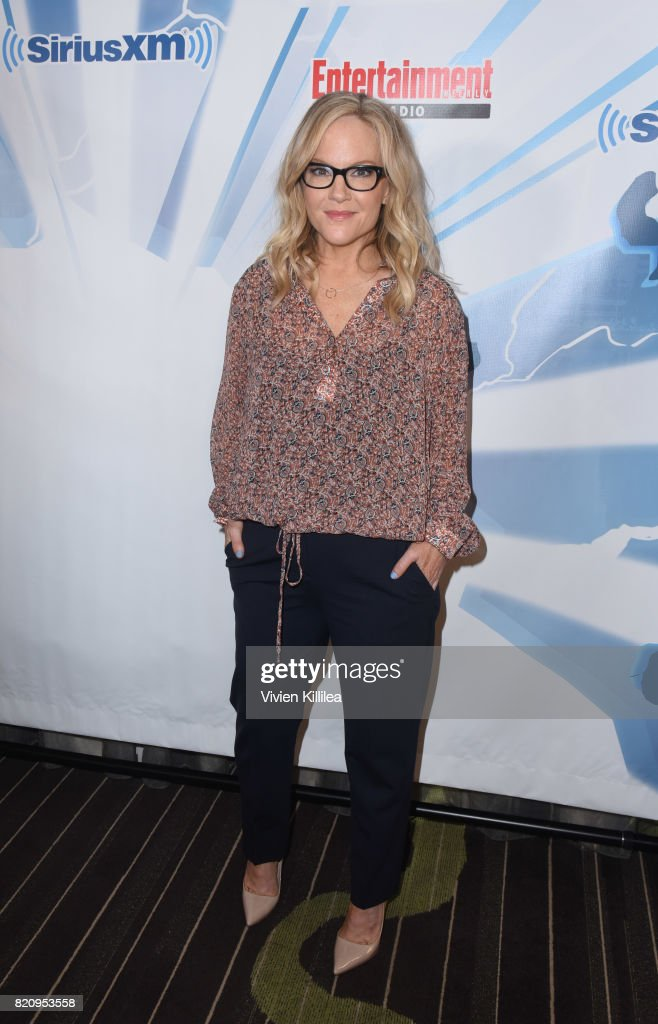 Rachael Harris attends SiriusXM's Entertainment Weekly Radio Channel Broadcasts From Comic Con 2017 at Hard Rock Hotel San Diego on July 22, 2017 in San Diego, California.