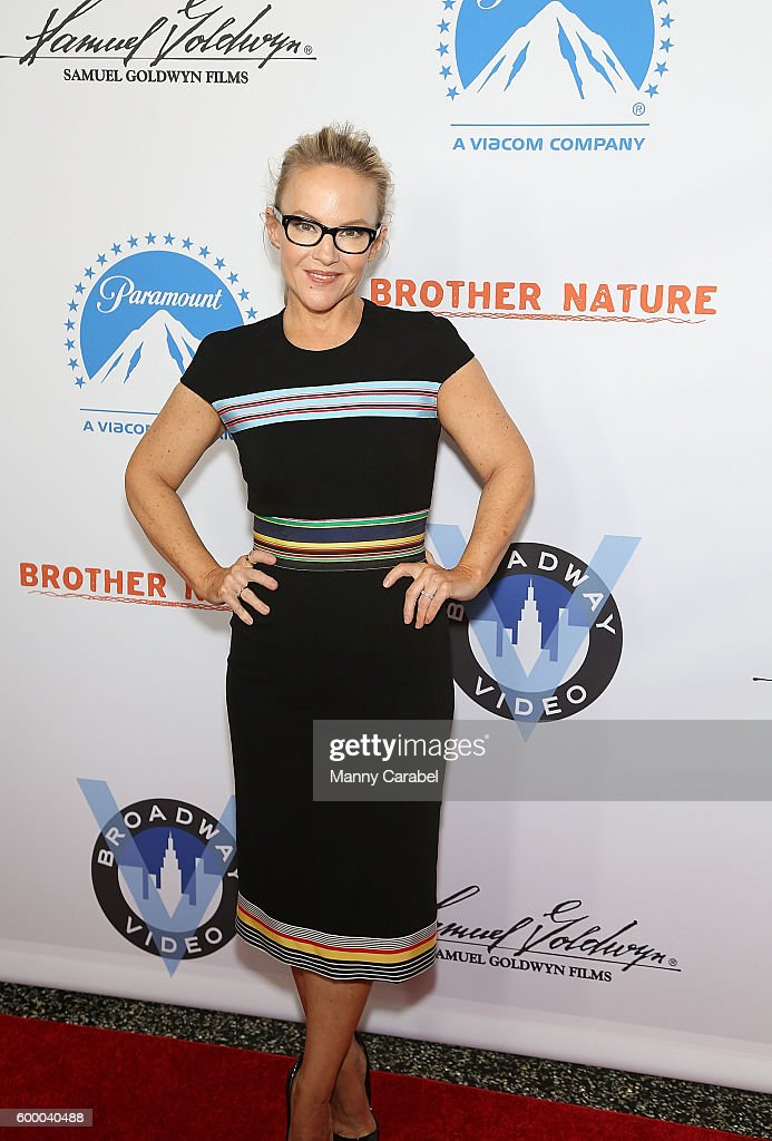 Rachael Harris attends the 'Brother Nature' New York Premiere at Regal E-Walk 13 on September 7, 2016 in New York City.