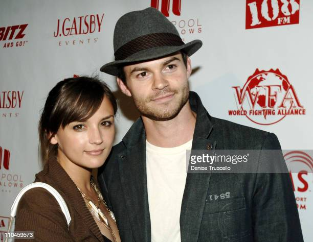 Rachael Leigh Cook and Daniel Gillies during 944 and Area 108 Present Camp Freddy and The Panic Channel at SKIN at The Palms Hotel and Casino Resort...