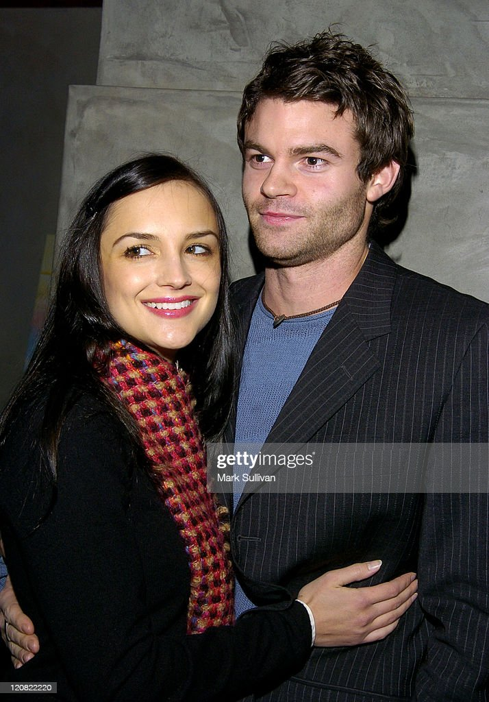 Rachael Leigh Cook and fiance Daniel Gillies during First Look Media 'Stateside' Party at Lounge 417 in Santa Monica California United States