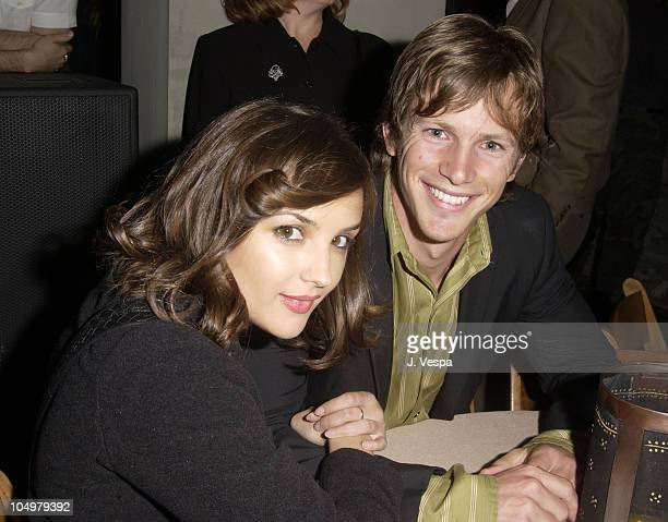 Rachael Leigh Cook and Kip Pardue during Movieline's 4th Annual Young Hollywood Awards Inside at The Highlands in Hollywood California United States