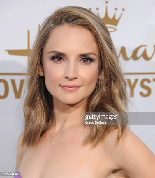 Rachael Leigh Cook arrives at the 2017 Summer TCA Tour Hallmark Channel And Hallmark Movies And Mysteries at a private residence on July 27 2017 in...