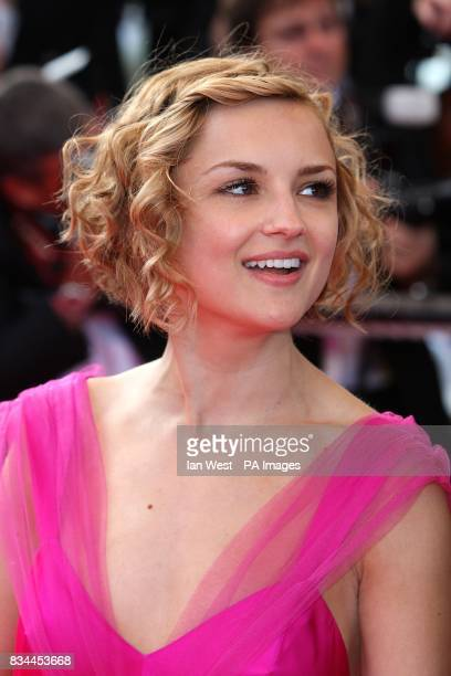 Rachael Leigh Cook arrives for the screening of 'Indiana Jones and the Kingdom of the Crystal Skull' during the 61st Cannes Film Festival in Cannes...