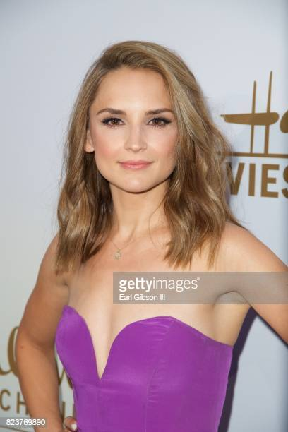 Rachael Leigh Cook attends the 2017 Summer TCA TourHallmark Channel And Hallmark Movies And Mysteries at a private residence on July 27 2017 in...
