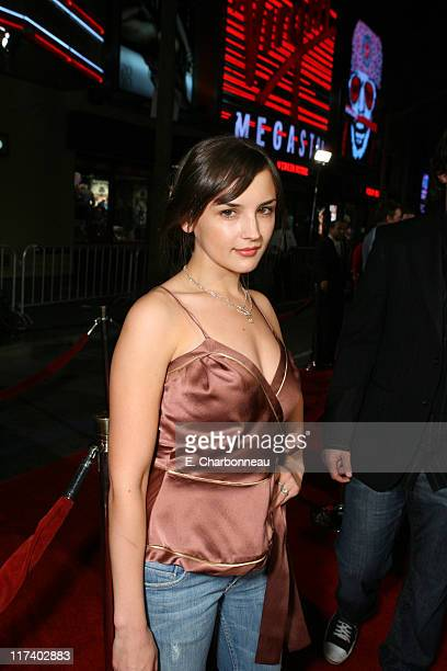 Rachael Leigh Cook during 20th Century Fox's World Premiere of Moviefilm 'Borat Cultural Learnings of America for Make Benefit Glorious Nation of...