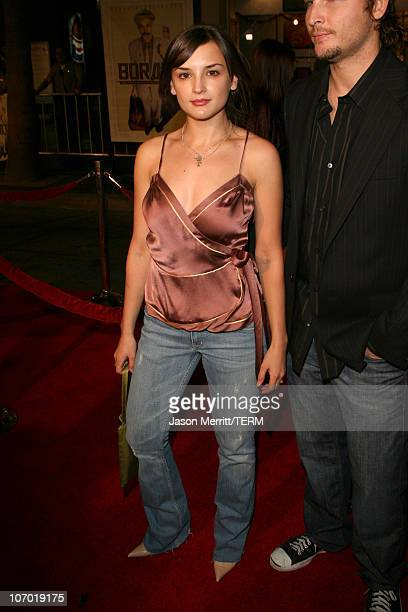 Rachael Leigh Cook during 'Borat Cultural Learnings of America For Make Benefit Glorious Nation of Kazakhstan' Premiere Arrivals at Grauman's Chinese...