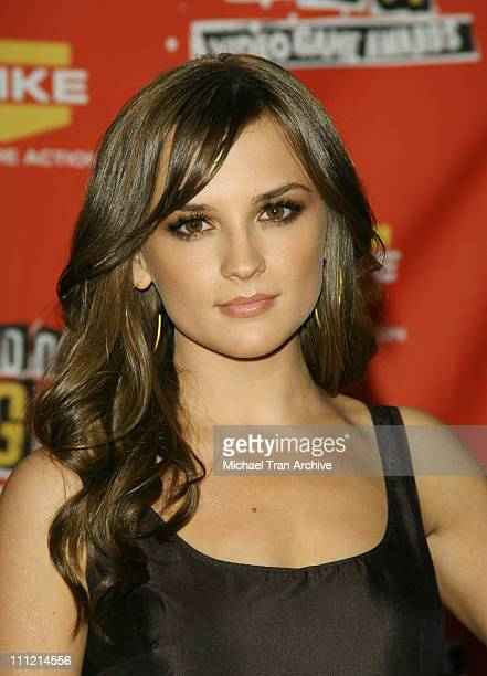 Rachael Leigh Cook during Spike TV's 2006 Video Game Awards Press Room at Galen Center in Los Angeles CA United States