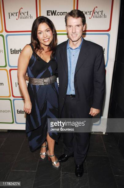 Rachael Ray and Dave Morris President and Publisher of Entertainment Weekly
