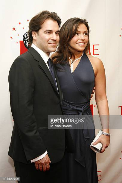 Rachael Ray and husband during Time Magazine 100 Most Influential People 2006 Party at Jazz at Lincoln Center in New York New York United States