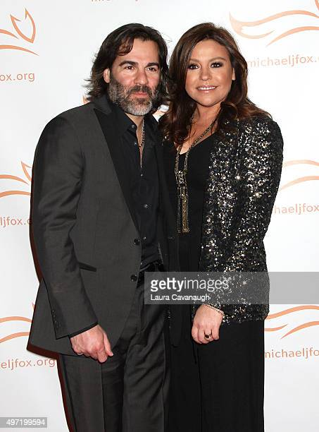 Rachael Ray and John Cusimano attend 2015 A Funny Thing Happened On The Way To Cure Parkinson's at The Waldorf=Astoria on November 14 2015 in New...