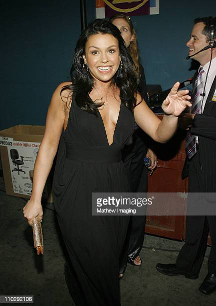 Rachael Ray during 34th Annual Daytime Emmy Awards Backstage and Audience at Kodak Theatre in Hollywood California United States
